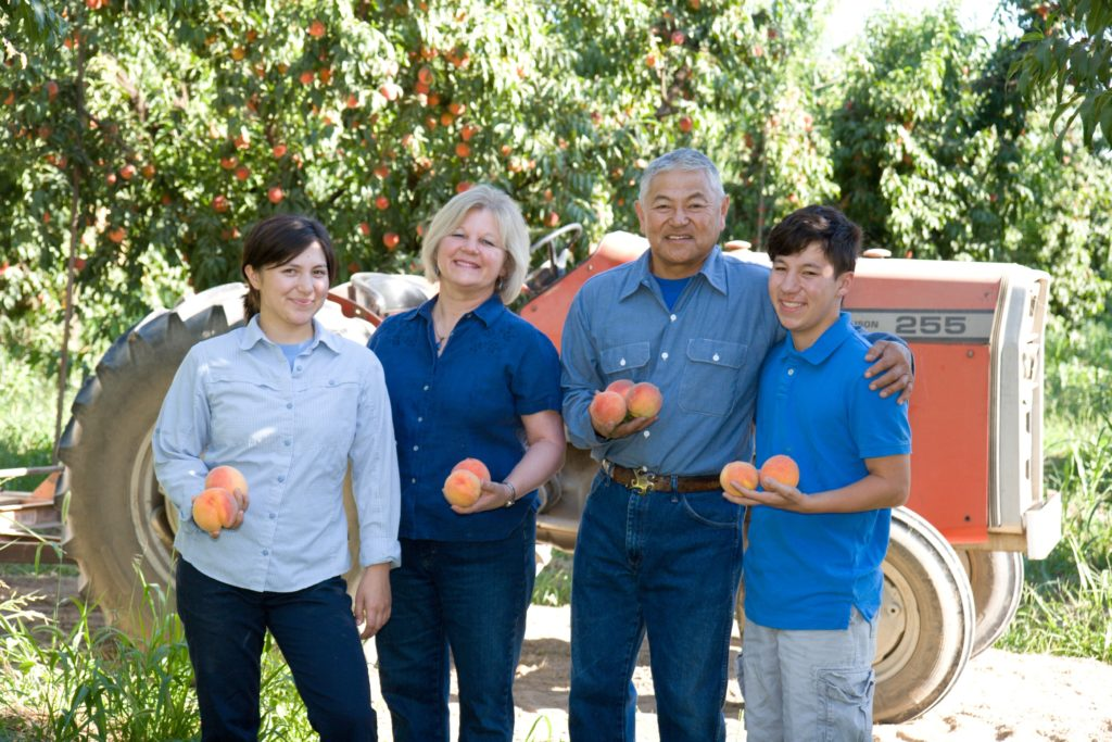 Marcy Masumoto and her Family